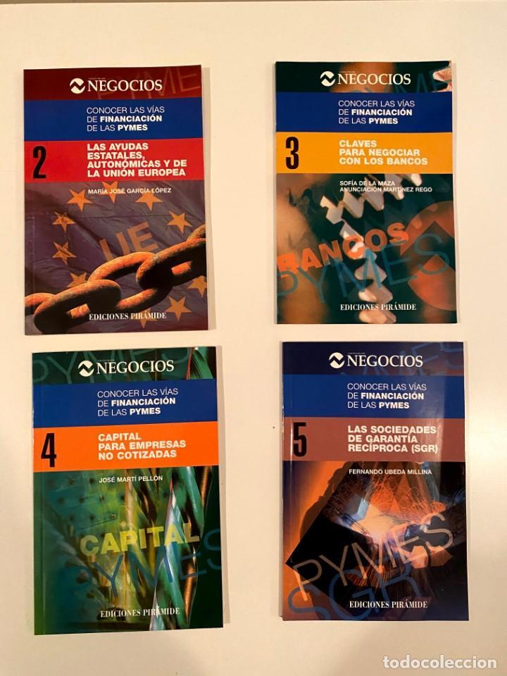 """""""CONOCER LAS VÍAS DE FINANCIACIÓN DE LAS PYMES"""" 4 LIBROS (Libros Nuevos - Ciencias, Manuales y Oficios - Derecho y Economía)"""