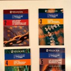 """Libros: """"CONOCER LAS VÍAS DE FINANCIACIÓN DE LAS PYMES"""" 4 LIBROS. Lote 245387840"""