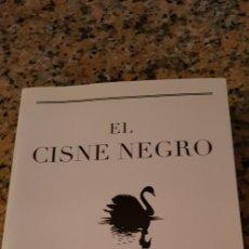 Libros: EL CISNE NEGRO -NASSIM NICHOLAS TALEB-. Lote 245477090