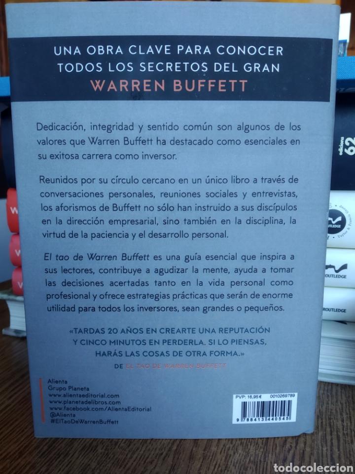 Libros: El tao de Warren Buffett La sabiduría de un genio Mary Buffett|David Clark. Nuevo - Foto 2 - 243857280