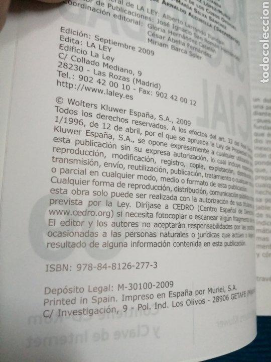 Libros: CÓDIGO LABORAL Y DE LA SEGURIDAD SOCIAL 09, GRUPO WOLTERS KLUWERGS. - Foto 2 - 246797315