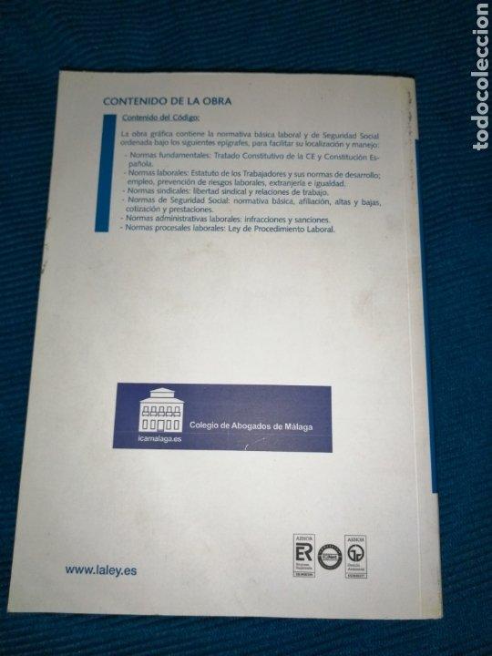 Libros: CÓDIGO LABORAL Y DE LA SEGURIDAD SOCIAL 09, GRUPO WOLTERS KLUWERGS. - Foto 3 - 246797315