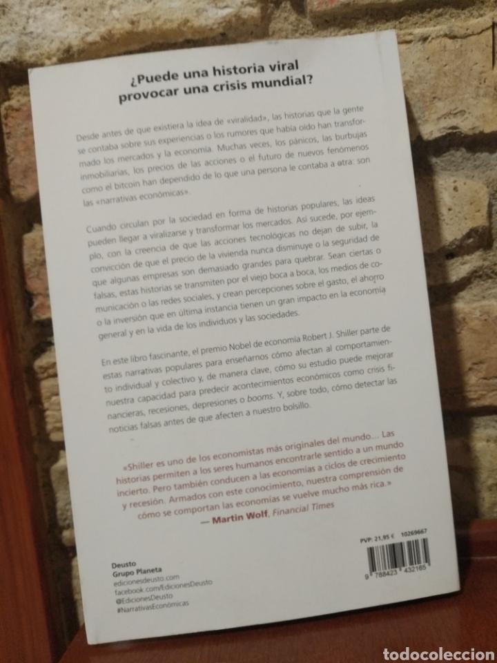 Libros: Narrativas económicas.Cómo las fake news y las historias virales afectan la marcha de la economía. - Foto 2 - 249255695