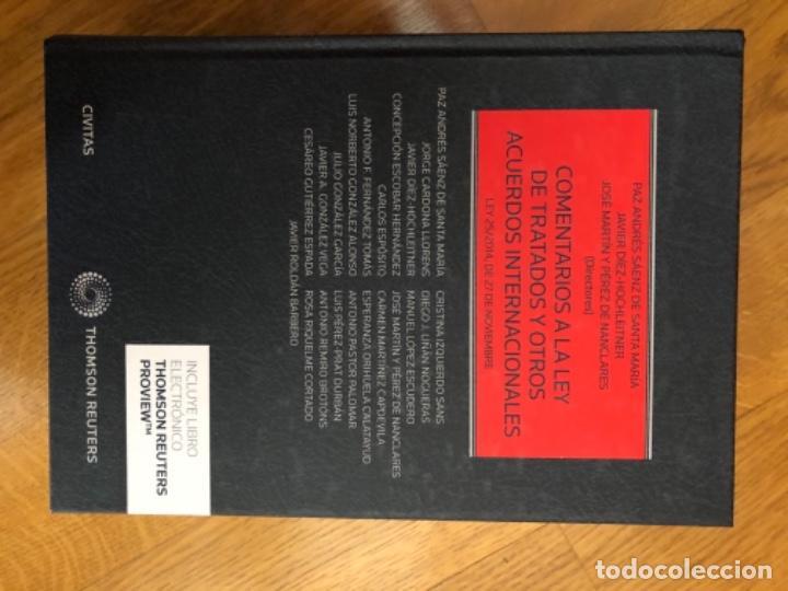 COMENTARIOS A LA LEY DE TRATADOS Y OTROS ACUERDOS INTERNACIONALES (Libros Nuevos - Ciencias, Manuales y Oficios - Derecho y Economía)