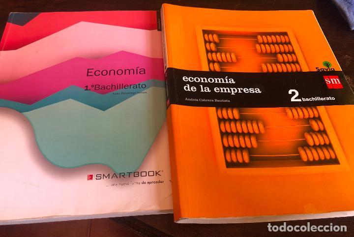 LIBROS ECONOMIA DE LA EMPRESA PRIMERO Y SEGUNDO DE BACHILLERATO 1 Y 2 EDITORIAL SM Y SMARTBOOK SAVIA (Libros Nuevos - Ciencias, Manuales y Oficios - Derecho y Economía)