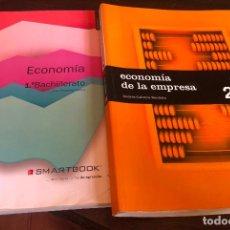 Libros: LIBROS ECONOMIA DE LA EMPRESA PRIMERO Y SEGUNDO DE BACHILLERATO 1 Y 2 EDITORIAL SM Y SMARTBOOK SAVIA. Lote 252492385