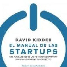 Libros: EL MANUAL DE LAS STARTUPS. Lote 253071845