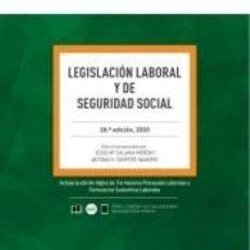 Libros: LEGISLACION LABORAL Y DE SEGURIDAD SOCIAL. Lote 253645045