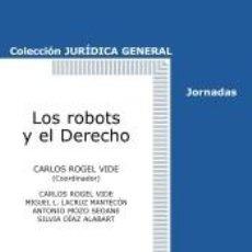 Libros: LOS ROBOTS Y EL DERECHO. Lote 254526195