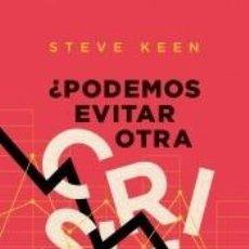 Libros: ¿PODEMOS EVITAR OTRA CRISIS FINANCIERA?. Lote 254884825