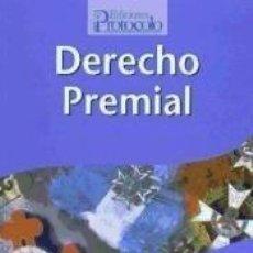 Libros: DERECHO PREMIAL. Lote 260675305
