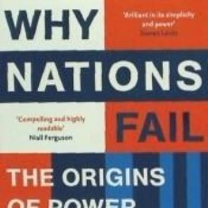 Livros: WHY NATIONS FAIL. Lote 261600455