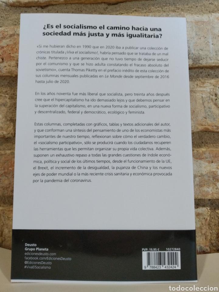 Libros: Thomas Piketty. ¡Viva el socialismo!: Crónicas 2016-2020. Novedad. 2021 - Foto 2 - 262080965
