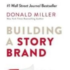 Libros: BUILDING A STORY BRAND. Lote 262230970