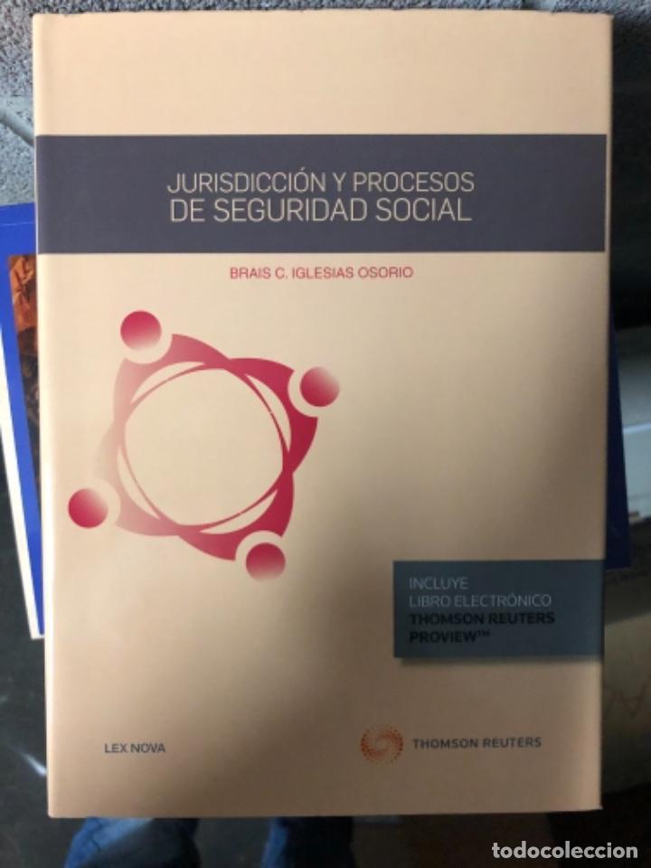 JURISDICCIÓN Y PROCESOS DE SEGURIDAD SOCIAL (Libros Nuevos - Ciencias, Manuales y Oficios - Derecho y Economía)