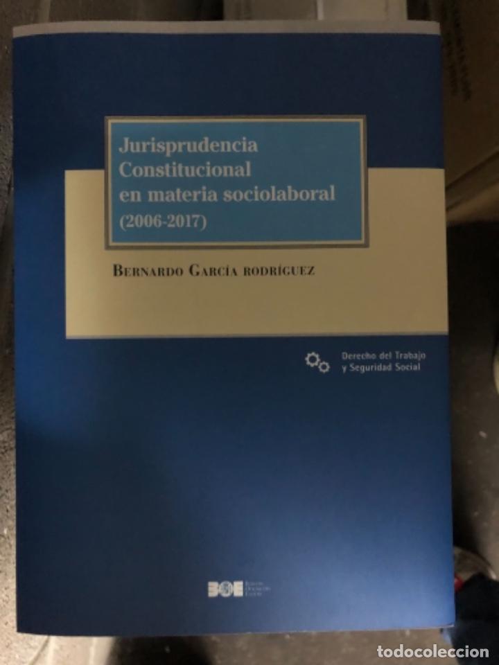 JURISPRUDENCIA CONSTITUCIONAL EN MATERIA SOCIOLABORAL (2006-2017) (Libros Nuevos - Ciencias, Manuales y Oficios - Derecho y Economía)