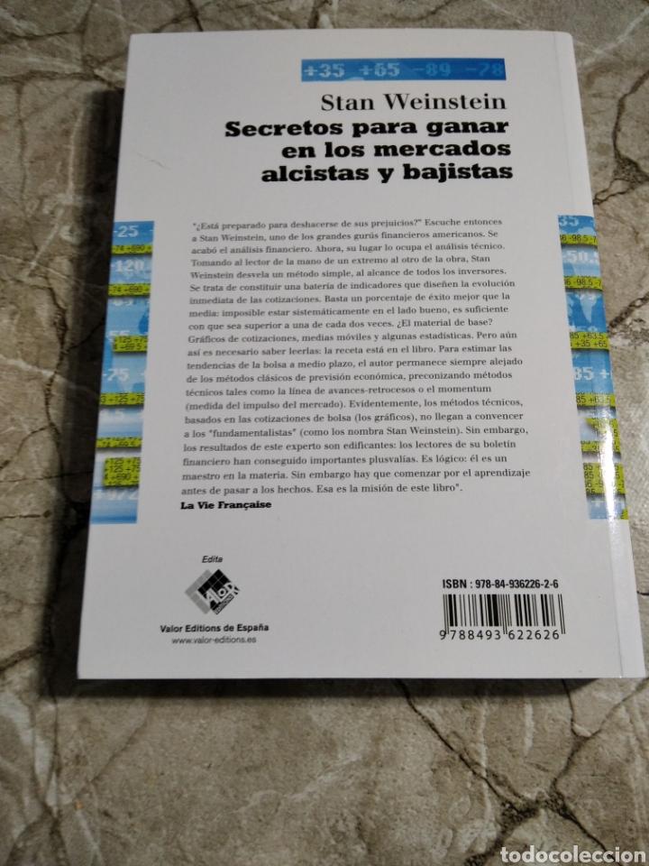 Libros: Secretos para ganar en los mercados alcistas y bajistas. Stan Weinstein. Nuevo - Foto 2 - 265997603
