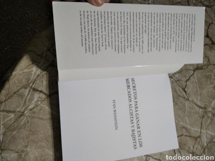 Libros: Secretos para ganar en los mercados alcistas y bajistas. Stan Weinstein. Nuevo - Foto 7 - 265997603