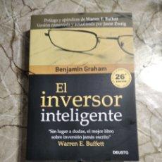 Libros: EL INVERSOR INTELIGENTE. BENJAMIN GRAHAM. ABSOLUTAMENTE NUEVO. Lote 266000428