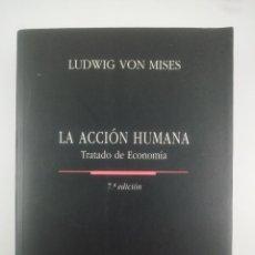 Livros: LA ACCION HUMANA TRATADO DE ECONOMIA 7 EDICION UNION EDITORIAL. Lote 267453679