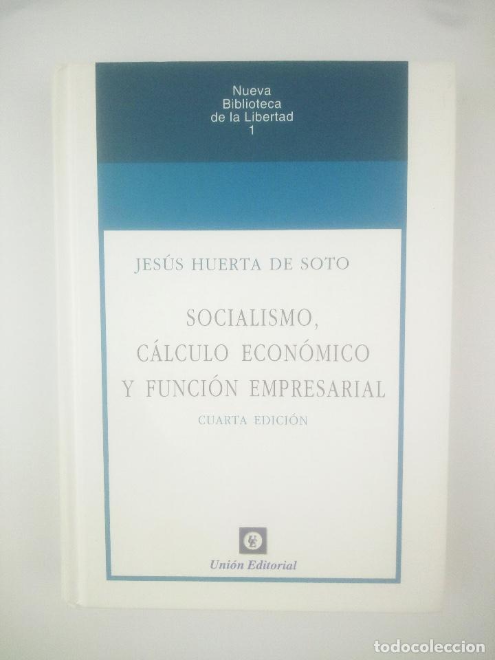 SOCIALISMO CALCULO ECONOMICO Y FUNCION EMPRESARIAL UNION EDITORIAL (Libros Nuevos - Ciencias, Manuales y Oficios - Derecho y Economía)
