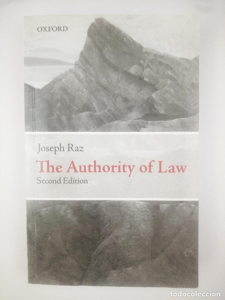 THE AUTHORITY OF LAW SECOND EDITION (Libros Nuevos - Ciencias, Manuales y Oficios - Derecho y Economía)