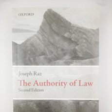 Libros: THE AUTHORITY OF LAW SECOND EDITION. Lote 267811644