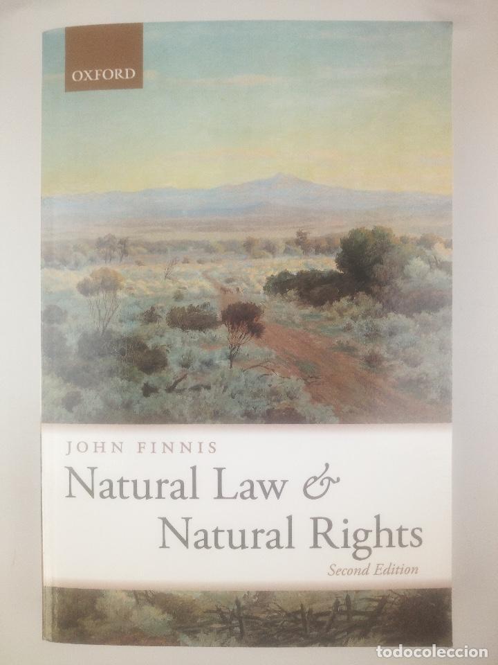 NATURAL LAW NATURAL RIGHTS JOHN FINNIS OXFORD (Libros Nuevos - Ciencias, Manuales y Oficios - Derecho y Economía)