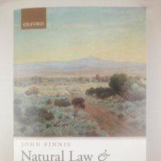 Libros: NATURAL LAW NATURAL RIGHTS JOHN FINNIS OXFORD. Lote 267813529