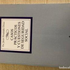Libros: PACK 3 LIBROS DERECHO SEGURIDAD SOCIAL Y LABORAL. Lote 267827029