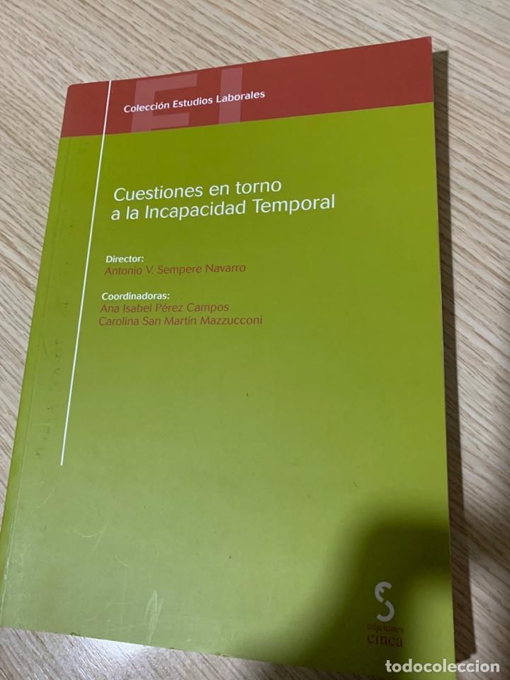 Libros: PACK 3 LIBROS DERECHO SEGURIDAD SOCIAL Y LABORAL - Foto 3 - 267827029