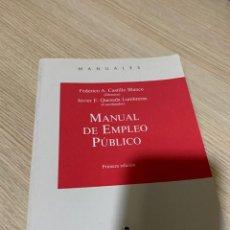 Libros: PACK 3 LIBROS EN MATERIA DE EMPLEO PÚBLICO. Lote 267828444