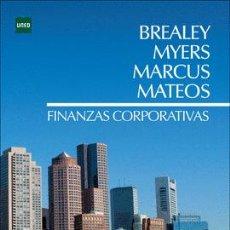 Libros: FINANZAS CORPORATIVAS BREALEY MYERS MARCUS MATEOS DE UNED Y MCGRAWHILL. Lote 267887859