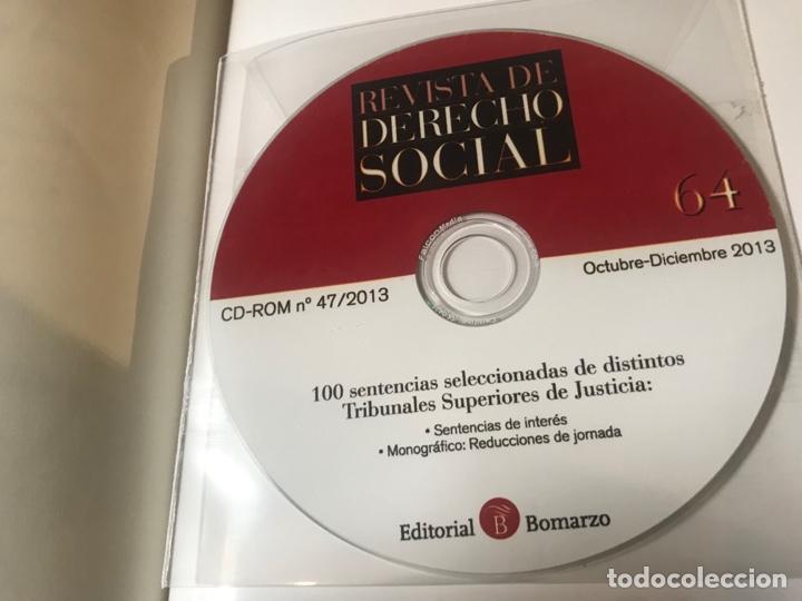 Libros: Revista de Derecho Social 2003 a 2014. Números 21 a 65. Editorial Bomarzo - Foto 3 - 268818489