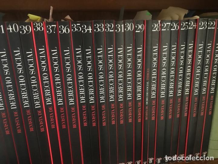 Libros: Revista de Derecho Social 2003 a 2014. Números 21 a 65. Editorial Bomarzo - Foto 7 - 268818489