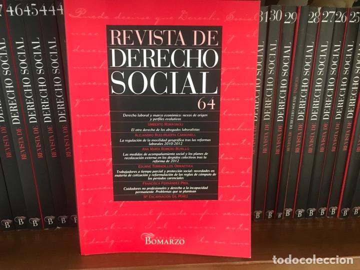 REVISTA DE DERECHO SOCIAL 2003 A 2014. NÚMEROS 21 A 65. EDITORIAL BOMARZO (Libros Nuevos - Ciencias, Manuales y Oficios - Derecho y Economía)
