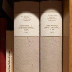 Libros: COMENTARIOS A LA CONSTITUCIÓN ESPAÑOLA DE 1978. Lote 268827384
