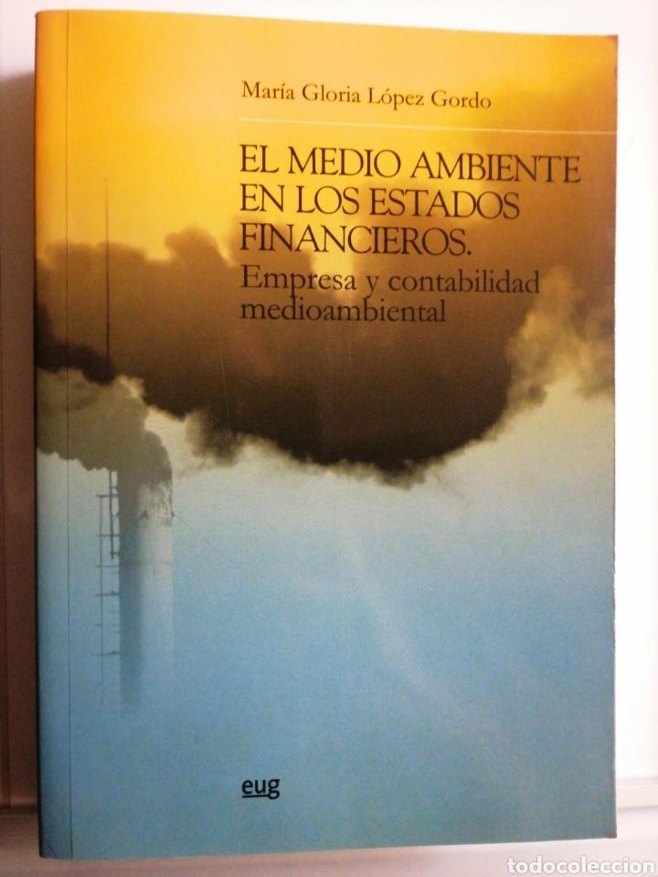 EL MEDIO AMBIENTE EN LOS ESTADOS FINANCIEROS. EMPRESA Y CONTABILIDAD (Libros Nuevos - Ciencias, Manuales y Oficios - Derecho y Economía)
