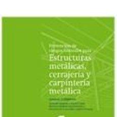 Libros: P.R.L. PARA ESTRUCTURAS METÁLICAS, CERRAJERÍA Y CARPINTERÍA METÁLICA. Lote 269066008