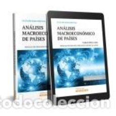 Libros: ANÁLISIS MACROECONÓMICO DE PAÍSES (DÚO). Lote 269222508