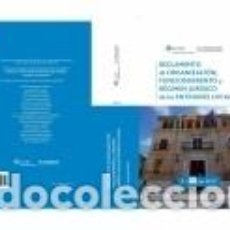 Libros: REGLAMENTO DE ORGANIZACIÓN, FUNCIONAMIENTO Y RÉGIMEN JURÍDICO DE LAS ENTIDADES LOCALES. Lote 269646473