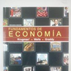 Libri: FUNDAMENTOS DE ECONOMIA KRUGMAN WELLS GRADDY. Lote 269722343