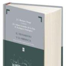 Libros: EL TESTAMENTO Y LA HERENCIA: ASPECTOS PRÁCTICOS Y CONSIDERACIONES FISCALES. Lote 269797783