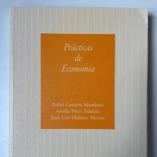 Libros: PRÁCTICAS DE ECONOMÍA. Lote 270566268