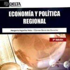 Libros: ECONOMIA Y POLITICA REGIONAL 2. Lote 271846773