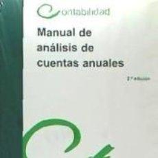 Libros: MANUAL DE ANÁLISIS DE CUENTAS ANUALES. Lote 271846823