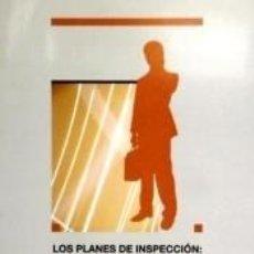 Libros: PLANES DE INSPECCIÓN.. Lote 274208843