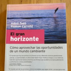 Libros: EL GRAN HORIZONTEC. Lote 276748458