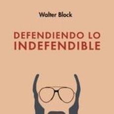 Libri: DEFENDIENDO LO INDEFENDIBLE. Lote 287644193