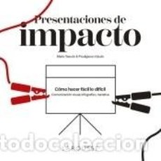 Libros: PRESENTACIONES DE IMPACTO. Lote 287930323
